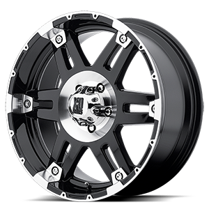 XD Series by KMC XD797 Spy 5 Gloss Black with Machined