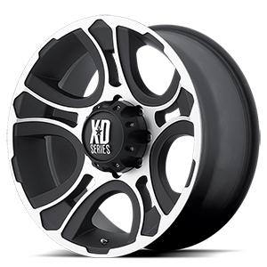 XD Series by KMC XD801 Crank 8 Matte Black Machined