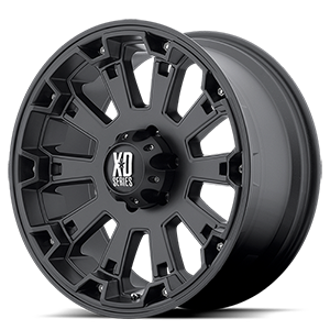XD Series by KMC XD800 Misfit 6 Matte Black