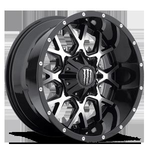 Monster Energy LE 645 5 Black with Diamond Cut