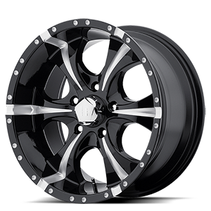 Helo Wheels HE791 MAXX 5 Gloss Black Milled