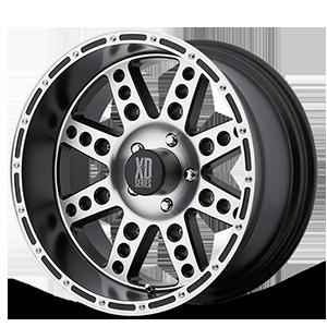 XD Series by KMC XD766 Diesel 5 Matte Black Machined