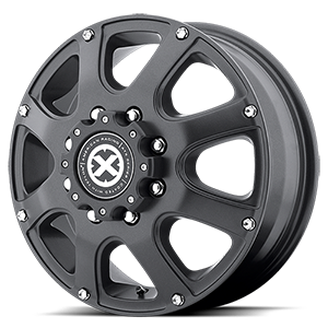 AX189 Ledge Front Textured Black 8 lug