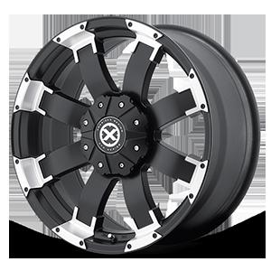 ATX Series AX191 Shackle 6 Satin Black w/ Machined Face