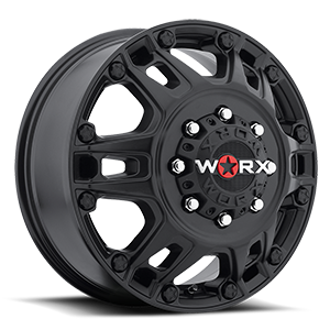 WORX Wheels 803 Beast Dually 8 Satin Black