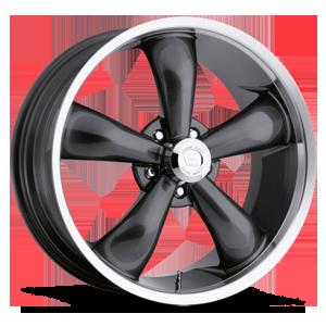 Vision Wheel 142 Legend 5 5 Gunmetal with Machine Lip