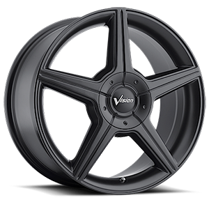 Vision Wheel 168 Autobahn 5 Matte Black
