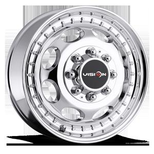 Vision HD Truck/Trailer 181 Hauler Duallie 8 Chrome