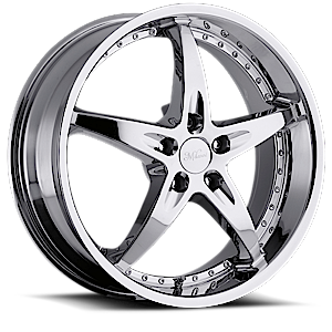 Milanni Wheels 453 ZS-1 5 Chrome