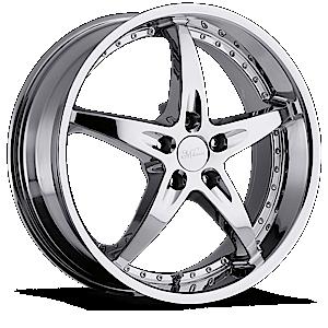 Milanni Wheels 453 ZS-1 5 Chrome