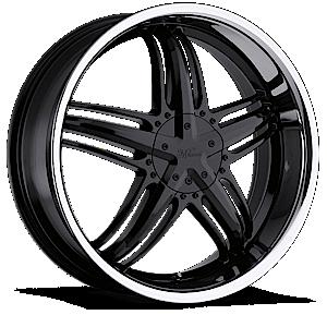 Milanni Wheels 457 Force 5 Gloss Black