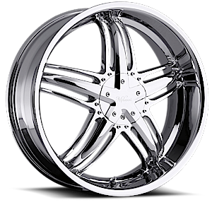 Milanni Wheels 457 Force 5 Phantom Chrome