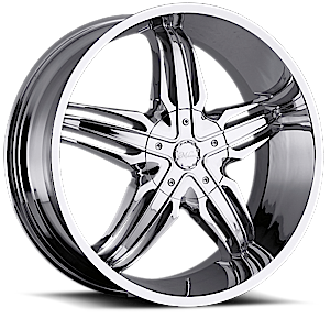 Milanni Wheels 458 Phoenix 5 Chrome