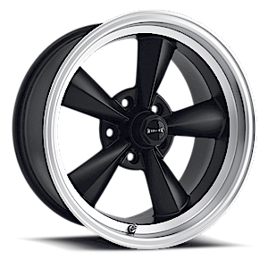 Ridler Wheels 675 5 Matte Black