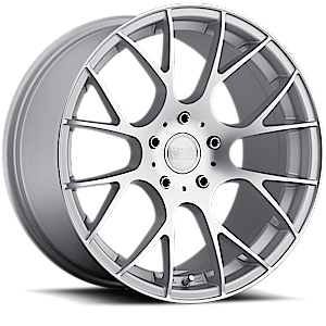 Concept One Wheels C - 8 5 Brushed Silver
