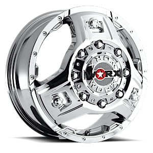 WORX Wheels 801 Triad Dually 8 Chrome