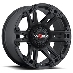 WORX Wheels 803 Beast Truck 5 Satin Black