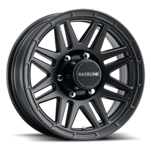 Raceline Wheels Outlander Trailer 6 Satin Black