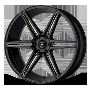 Asanti Black Label ABL-25 Alpha 6 6 Gloss Black