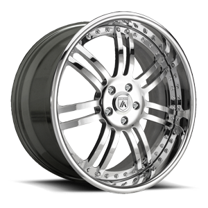 Asanti Forged Wheels AF123 5 Chrome