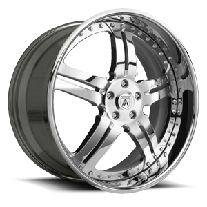 Asanti Forged Wheels AF135 5 Chrome