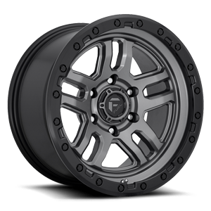 Ammo - D701 Anthracite w/ Black Ring 5 lug