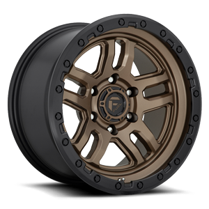 Ammo - D702 Bronze w/ Black Ring 5 lug