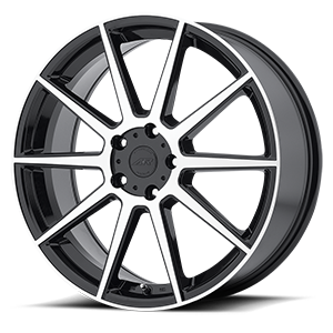 American Racing Custom Wheels AR908 5 Gloss Black w/ Machined Face