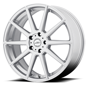 American Racing Custom Wheels AR908 5 Silver w/ Machined Face