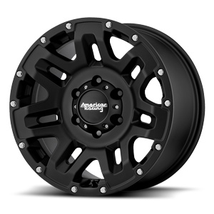 Yukon - AR200 Cast Iron Black 6 lug