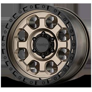 American Racing Custom Wheels AR201 6 Matte Bronze with Black Ring