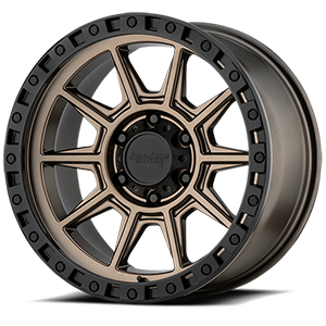 American Racing Custom Wheels AR202 6 Matte Bronze with Black Ring