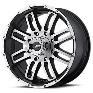 American Racing Custom Wheels AR901 8 Satin Black Machined