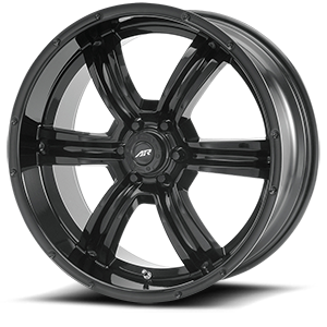 American Racing Custom Wheels AR320 Trench 6 Gloss Black