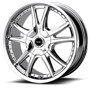 American Racing Custom Wheels AR607 Alert 5 Chrome