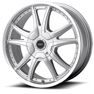 American Racing Custom Wheels AR607 Alert 4 Silver w/Machine