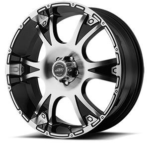 American Racing Custom Wheels AR889 Dagger 5 Gloss Black w/Machine