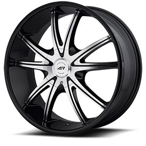 American Racing Custom Wheels AR897 5 Gloss Black Machined