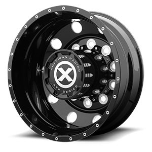 AO400HD Baja - Heavy Duty High Gloss Black Milled 10 lug