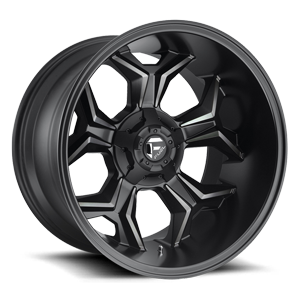 Avenger - D605 Matte Black/Machined/DDT 5 lug