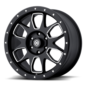 ATX Series AX196 6 Satin Black Milled