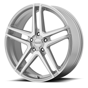 American Racing Custom Wheels AR907 5 Silver w/ Machined Face