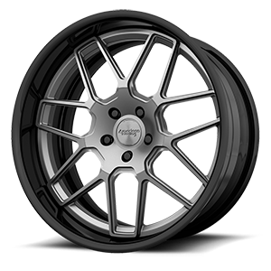 American Racing Custom Wheels VF304 5 Gunmetal with Black Lip