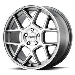 American Racing Custom Wheels AR913 Apex 5 Gunmetal Machined