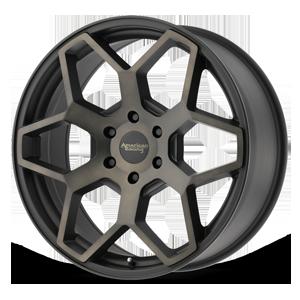 American Racing Custom Wheels AR916 6 Satin Black w/ Dark Tint Clear Coat