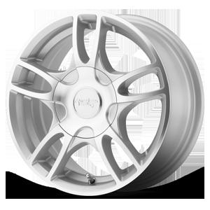 American Racing Custom Wheels AR919 Estrella 2 5 Silver Machined