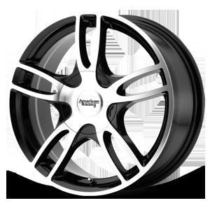 American Racing Custom Wheels AR919 Estrella 2 5 Gloss Black Machined