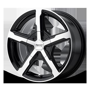 American Racing Custom Wheels AR921 Trigger 5 Gloss Black Machined