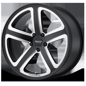 American Racing Custom Wheels AR922 Hot Lap 5 Satin Black Milled