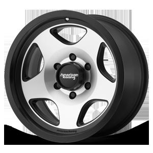 American Racing Custom Wheels AR923 Mod 12 6 Satin Black Machined